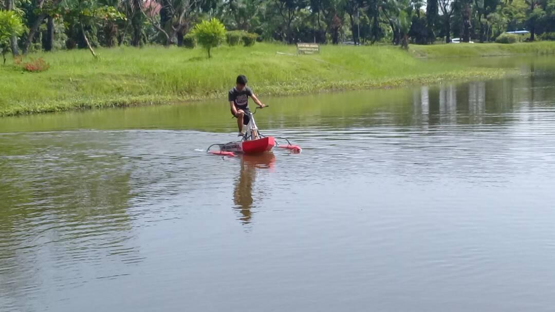 Water Bike, Teknik Mesin Industri ITS